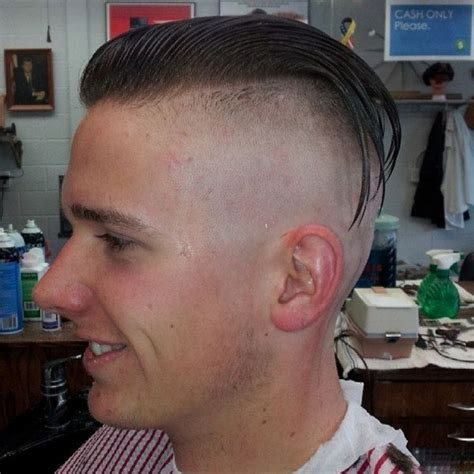 shaved sides slicked back hairstyles men undercut shaved slick back men s hairstyles pinterest
