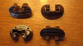 set of 4 x kenlin rite trak ii drawer guides replacement