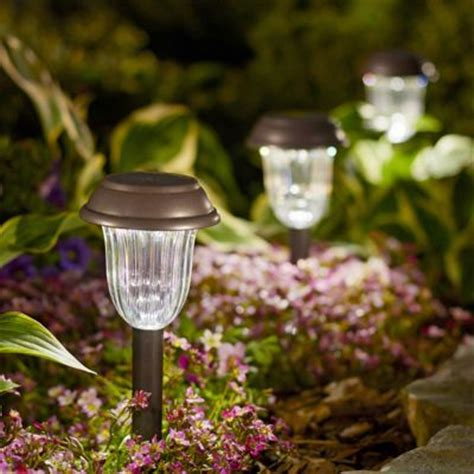 solar landscape lights lowes shop landscape lighting at lowes