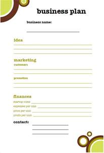 small business plan templates 16 small business plan template images small business