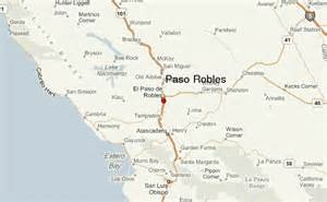 weather forecast california map paso robles location guide