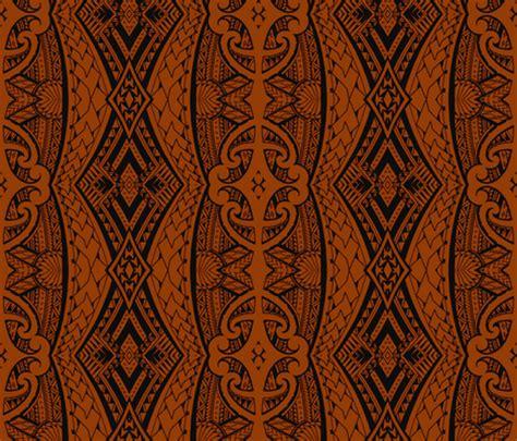 flower pattern eshop maori tapa wallpaper flyingfish spoonflower