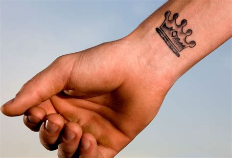crown wrist tattoo design ideas tattoo ideas pictures
