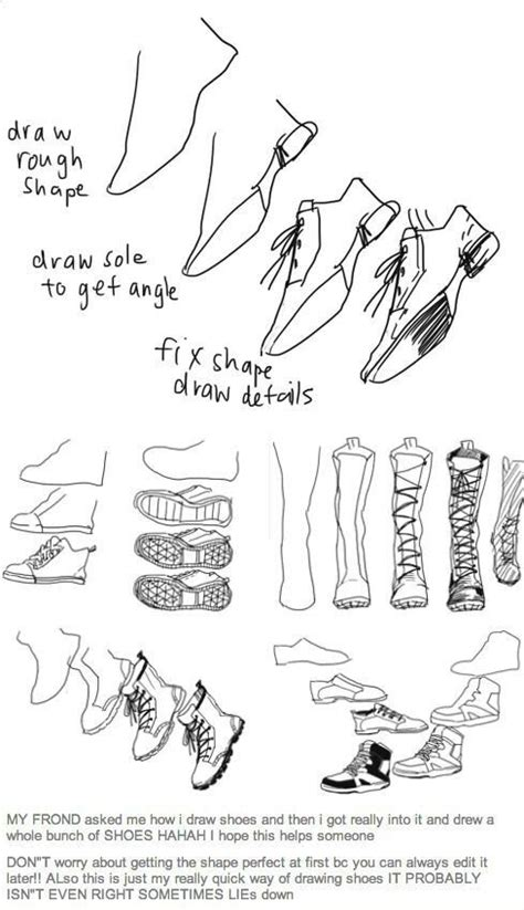 design pattern reference best 20 how to draw shoes ideas on pinterest drawing