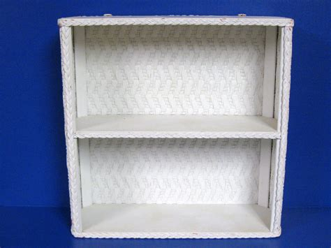 wicker bathroom shelf wicker bathroom shelves mid century white wicker