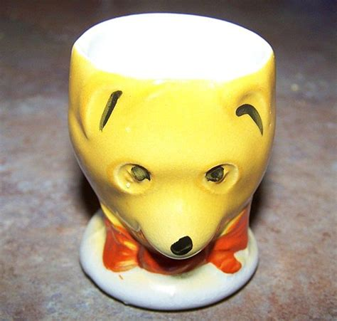 Winnie Backroom by Winnie The Pooh Ceramic Painted Egg Cup From