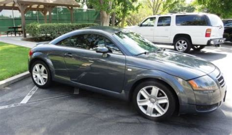 audi tt fwd sell used 2004 audi tt coupe fwd automatic 1 8l