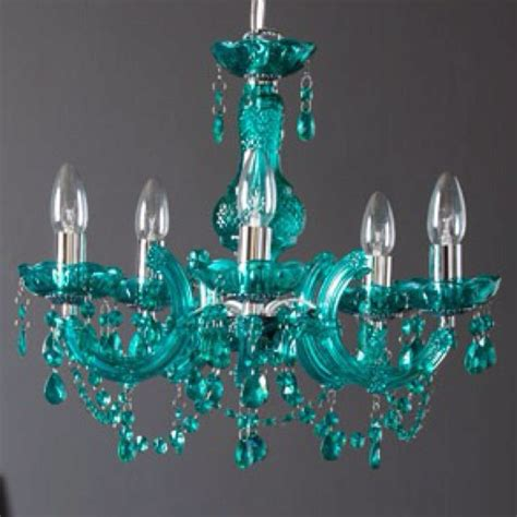 Teal Chandelier For Paris Themed Kitchen For The Home Teal Glass Chandelier