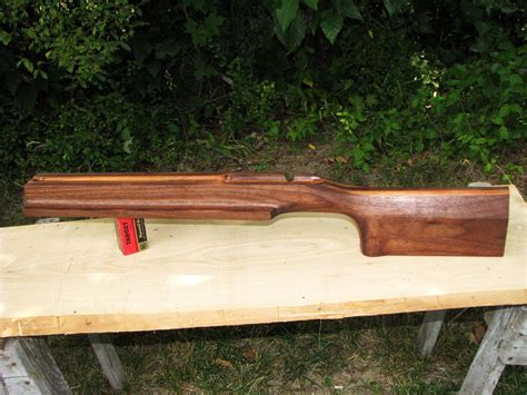 bench rest stocks 22 rimfire benchrest stock carved from american black walnut and wild cherry by haldougherty