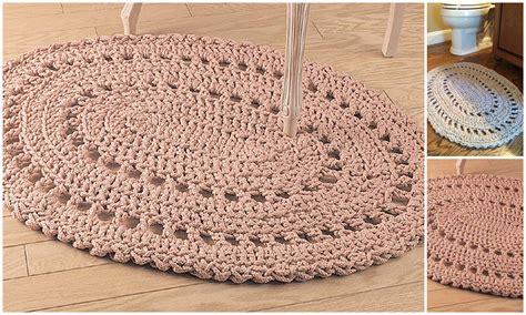 Crochet Bathroom Rug Crochet Bathroom Rug Rugs Ideas