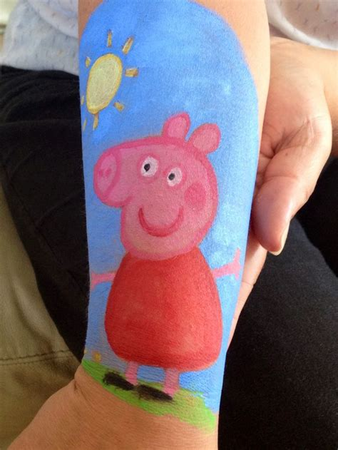 peppa pig face painting designs pinterest pigs and