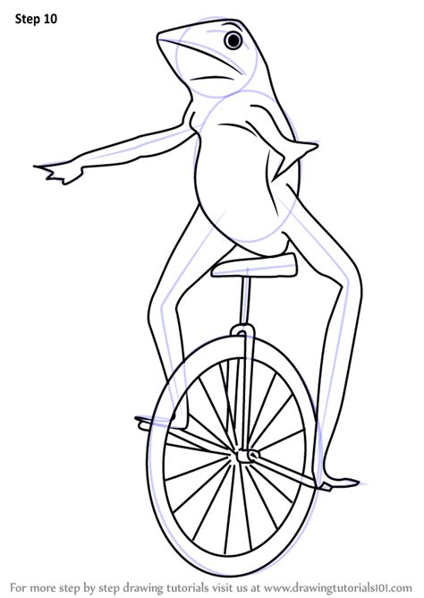 Learn How to Draw dat Boi (Memes) Step by Step : Drawing ... Eagle Coloring Pages Free
