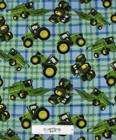 Patchwork Quilting Fabric - patchwork quilting fabric deere tractor blue b g