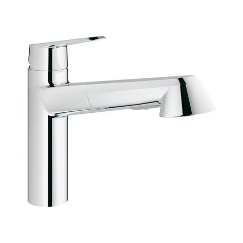 grohe eurodisc kitchen faucet grohe eurodisc cosmopolitan single handle pull out kitchen