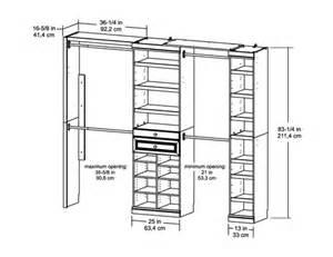 Closet Layout Systembuild Furniture Premier Closet Organizer