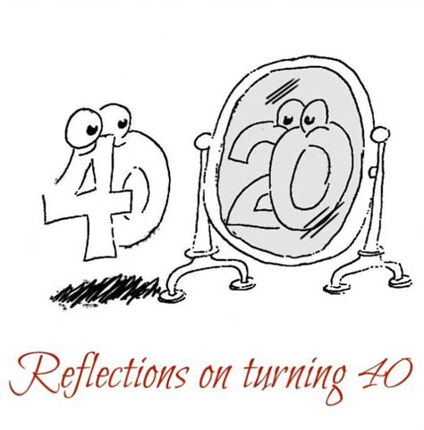 reflections of godâ s turning points a personal testimony books reflections on turning 40