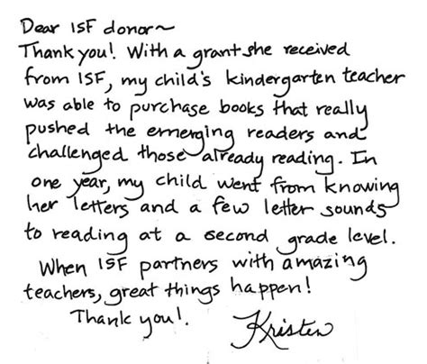 thank you letter to kindergarten parents thank you quotes for parents quotesgram