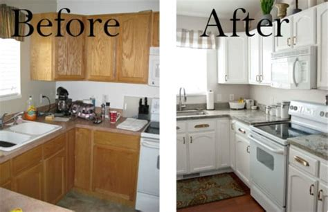 refinish kitchen cabinets before and after save considerable money by refinishing kitchen cabinets