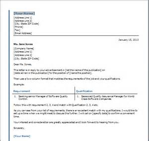 Covering Letter Layout by Cover Letter Table Template Free Layout Format