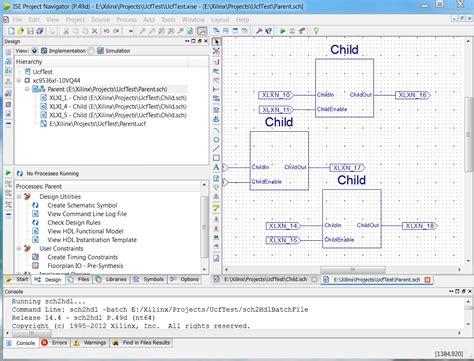tutorial webpack xilinx ise webpack schematic capture tutorial use of