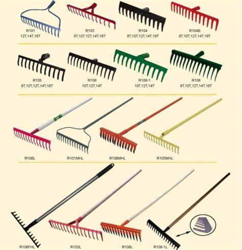 types of garden tools and their uses china 22 tine leaf rake rk22 101 china rake garden tool