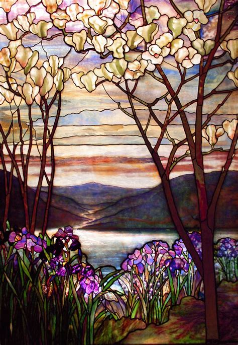 louis comfort tiffany art tiffany art in stained glass and leadlight pinterest