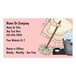business card ideas for cleaning service cleaning service business cards zazzle