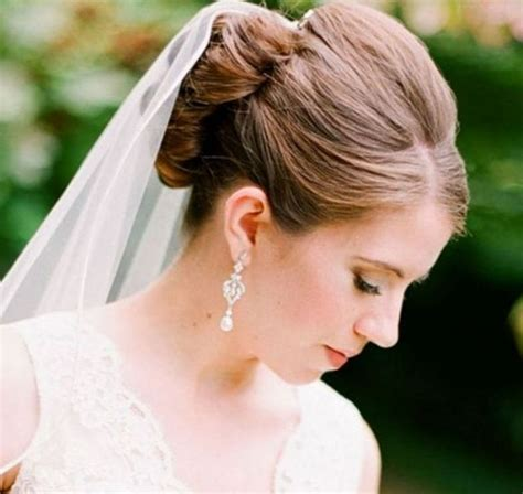 Wedding Hair With Veil Pictures by Wedding Hairstyles With Veil