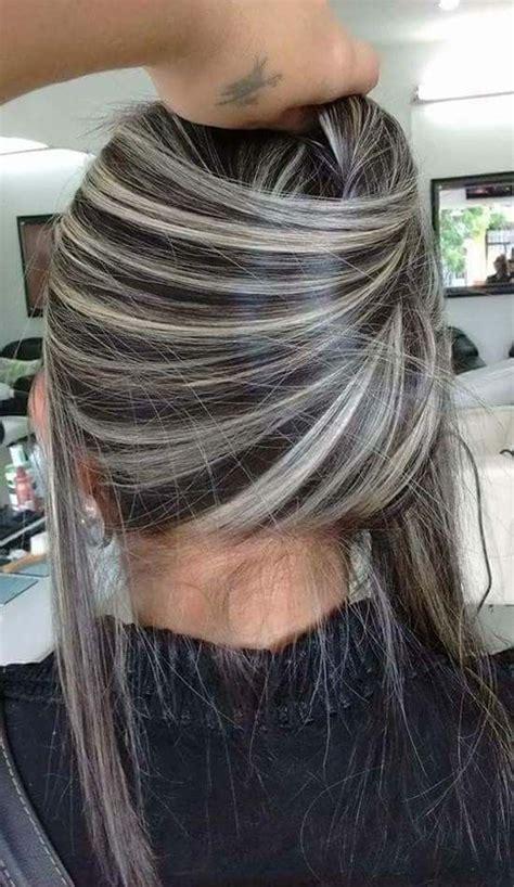 platinum white blonde silver balayage hair styles hair