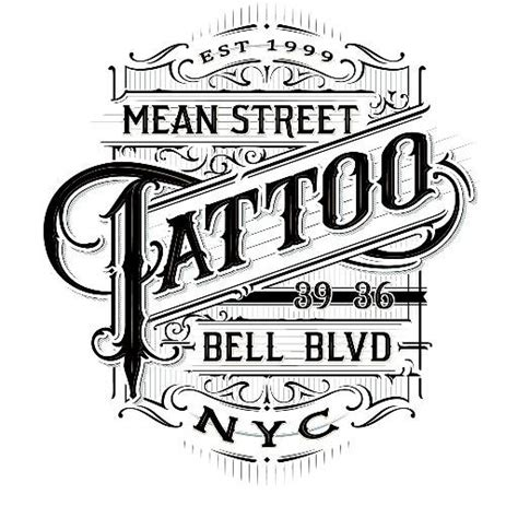 mean street tattoos meanstreettatto