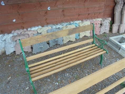 reclaimed garden bench garden bench with reclaimed ends authentic reclamation