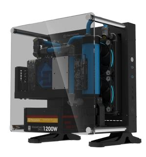 Thermaltake P1 Tg Mini Itx Wallmount Chassis thermaltake global the new thermaltake p1 tg mini itx chassis at ces2017 new member