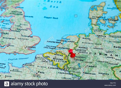 map of germany showing cologne popular 261 list cologne germany map