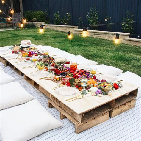 backyard party setup the 14 all time best backyard party ideas crates picnics and cozy