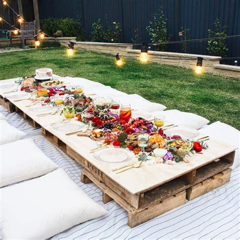 backyard picnic ideas the 14 all time best backyard ideas crates