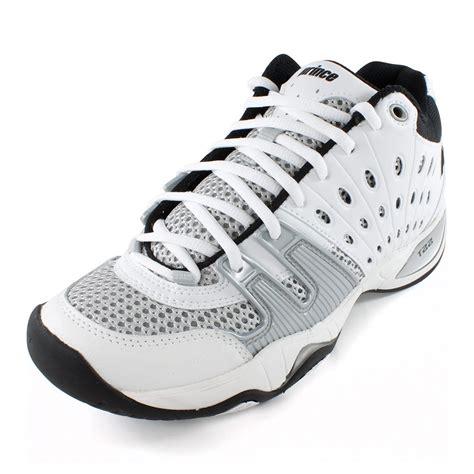 tennis express prince s t22 mid tennis shoe white