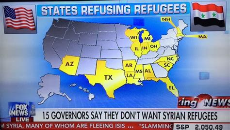 map of us states refusing refugees update 31 governors including one democrat refuse obama s