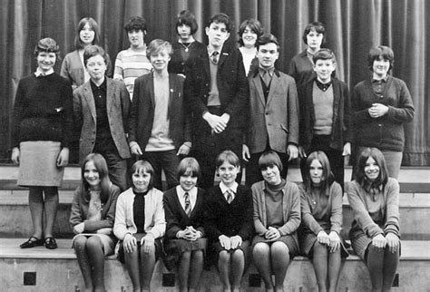 a class at james cark st leonards around 1966