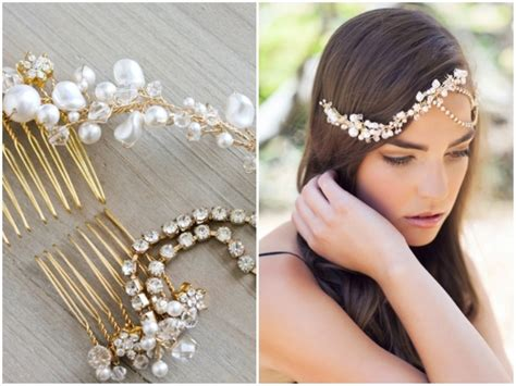 Handmade Bridal Headpieces - picture of gorgeous bridal headpieces by percy handmade