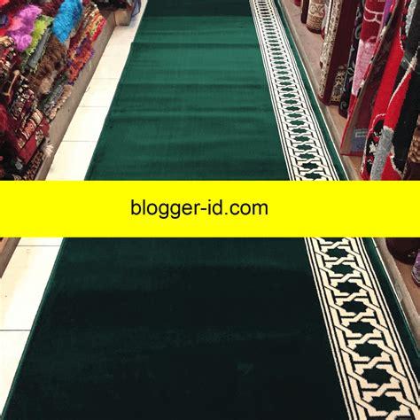 Karpet Plastik Per Meter Bandung jual karpet masjid tebal berkualitas polos bisa per meter