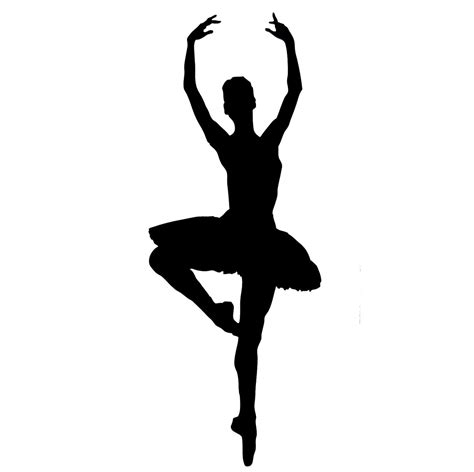 Silhouette Clip Free by Free Ballet Silhouette Cliparts Free Clip