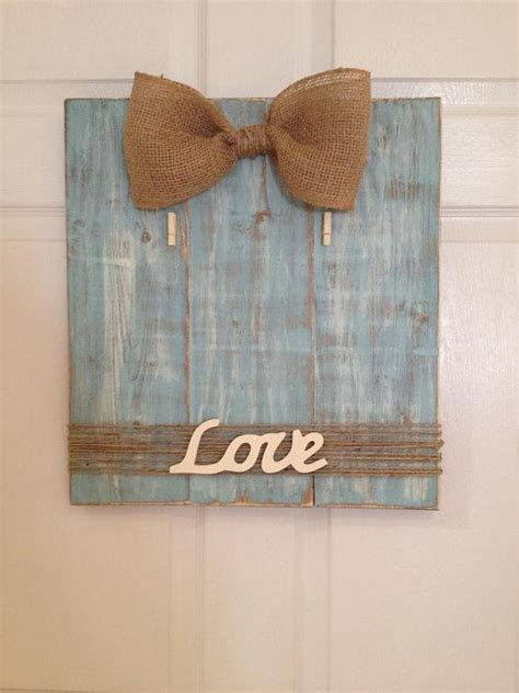 Handmade Wooden Picture Frames - handmade wooden picture frame with burlap bow and twine