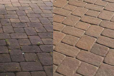 Nj Pa Paver Repair Experts Cleaning Pavers Tutorial How To Clean Patio Pavers