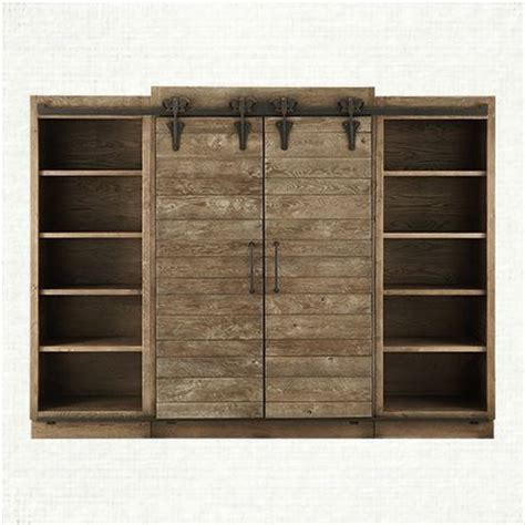 barn door media cabinet 22 best images about entertainment centers on