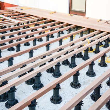 veranda unterkonstruktion holzterrasse unterkonstruktion selber bauen diy abc