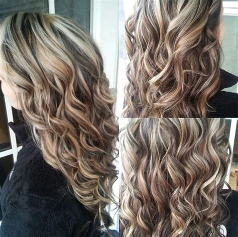 dramatic hair color highlights pictures blonde highlights and dark brown lowlights come learn