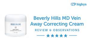Beverly hills md vein away correcting cream reviews is it a scam or