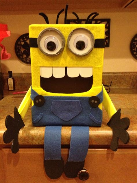 minion valentines day box 17 best images about s day on
