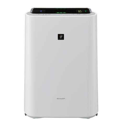 sharp air purifier with humidifier kc d40e w available at esquire electronics