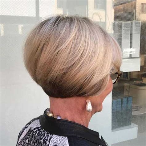 short stacked hairstyles for women 60 best short haircuts for older women in 2018 hairiz